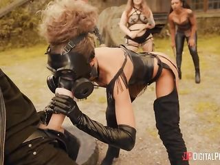 Post-Apocalyptic Porn aggressive women