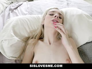 Petite Teen Drilled And Filled By Her Stepbro