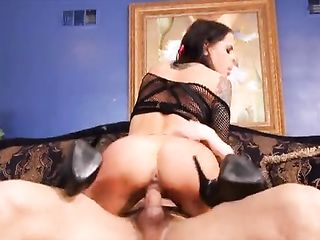 Sexy woman in mouth and vagina