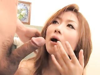 Japanese woman ripped jeans and forced to suck dick and fuck dildo