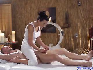 Shalina Devine gives an intimate massage