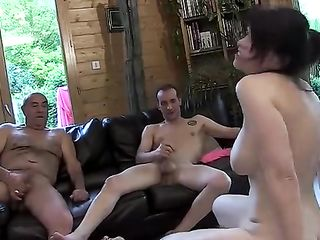 An insatiable woman is satisfied by three men