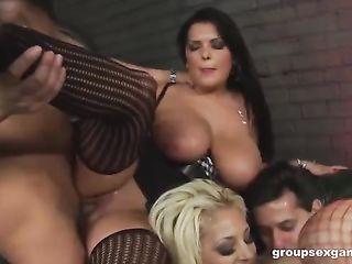 Huge Milk Orgy Porn