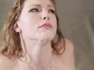 Ella Nova substitutes all three holes during foursome sex