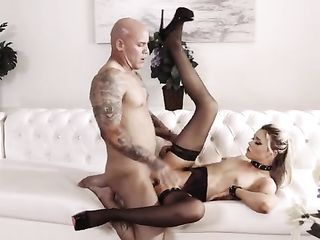 Hard fucked beauty Anny Aurora