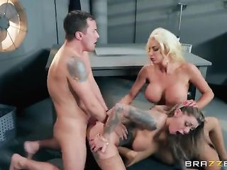 Beautiful porn with two busty porn models
