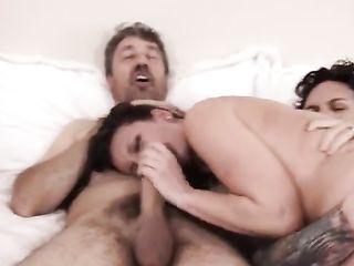 Jade Nile fucks with four men