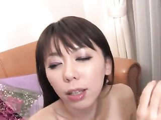 Guys cums on young japanese face