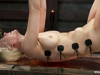 A test in electro sex for Cherry Torn