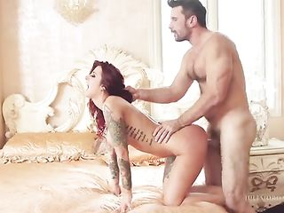 Passionate doggy style sex with the informal