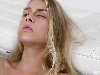 Graceful blonde has sex with her boyfriend