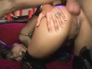 Asian call woman fucks client at mens club