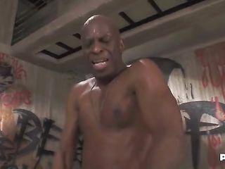 African American fucks woman hard in the ass