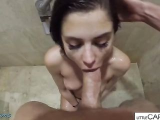 Fucked young girl in the shower