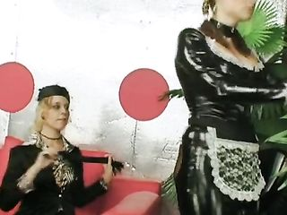 Lesbian role playing - Mistress and Maid