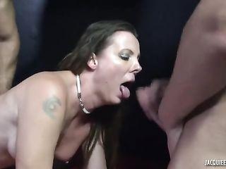 A sex shop employee provides sex services to clients