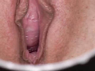 Cindy Shine's pussy close-up