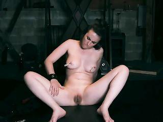 Casey Calvert spanks herself