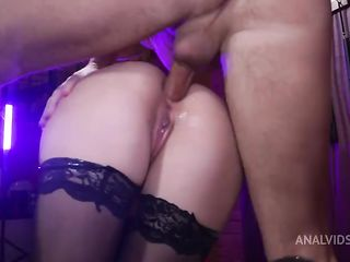 Devilishly beautiful Kristi Deep and the excitation from anal destruction!