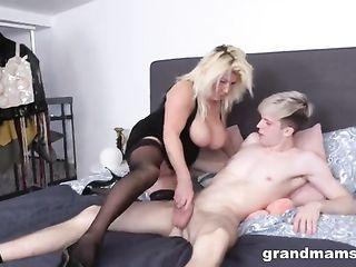 Dude fucks his grandmother's friend