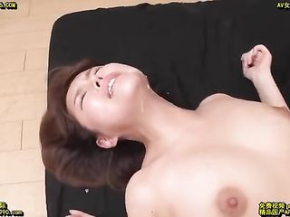 Cum in Asian face and fucked her again